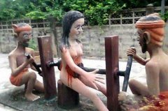 古代日本用变态酷刑惩罚女犯