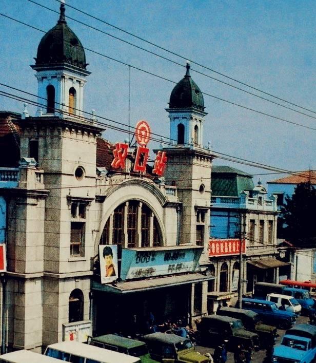 老照片老汉口火车站
